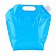 SYGA Portable Collapsible Water Storage Tank Water Container Water Carrier Lifting Bag 5000 ml Water Bag(Pack of 1, Blue)
