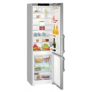 Combina frigorifica Liebherr CNef 4015, 356 L, No Frost, Display, Control electronic, Alarma usa, Raft sticle, SuperCool, H 201.1 cm, A++, Uşi inox