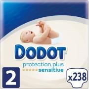 Dodot Fraldas Dodot Sensitive T2 238 uds