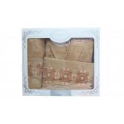 """Комплект халат с кърпи """"Melisa Ornaments"""""""
