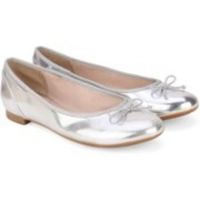 Clarks Couture Bloom Silver Bellies For Women(Silver)