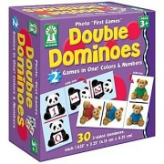 Key Education 842000 Photo First Games Double Dominoes (CDP842000)
