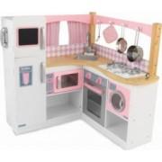 Bucatarie KidKraft pentru copii Grand Gourmet Gri-Roz