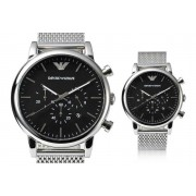 Emporio Armani Men's Mesh Chronograph Watch