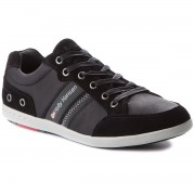 Сникърси HELLY HANSEN - Kordel Leather 109-45.990 Black/Ebony/Red/Ash Grey Arctic Grey