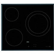 AEG HK623021FB - Vitroceramica Independiente Radiantes 3 Zonas Coccion Ancho 60 Cm