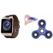 Zemini DZ09 Smart Watch and Fidget Spinner for LG OPTIMUS L1 II(DZ09 Smart Watch With 4G Sim Card Memory Card| Fidget Spinner)