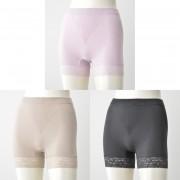 TH綿モダール混立体成型1分丈ショーツ3枚セット【QVC】40代・50代レディースファッション