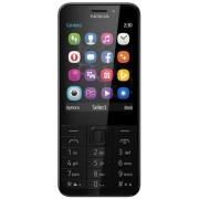 "Telefon Mobil Nokia 230, TFT 2.8"", 2MP, Dual Sim (Gri) + Cartela SIM Orange PrePay, 6 euro credit, 6 GB internet 4G, 2,000 minute nationale si internationale fix sau SMS nationale din care 300 minute/SMS internationale mobil UE"