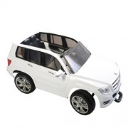 Mercedes-Benz GLK 300 Electric Ride-on Car, White