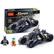 Generic Lego Style Bat Mobile Batman Joker Building Blocks Play Set For Kids