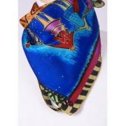 Zijden multicolor Laurel Burch -art collection- shawl