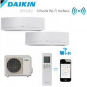 Daikin Climatizzatore/Condizionatore Daikin Dualsplit Parete 2MXS50H + FTXG25LW + FTXG25LW