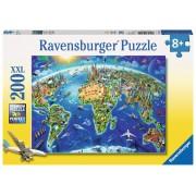 Legpuzzel De wereld in symbolen | Ravensburger
