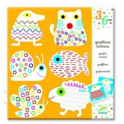 DJECO Zestaw do malowania szlaczków dla młodszych dzieci, DJ08939