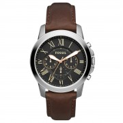 Ceas FOSSIL - Grant FS4813 Dark Brown/Silver/Steel