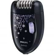 Epilator Philips HP6422/01 Satinelle 2 viteze Negru / Mov