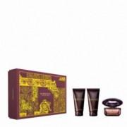 Versace Crystal Noir Kit Eau de Toilette 50ml + Lozione Corpo 50 ml + Gel doccia 50ml