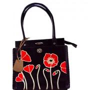 Arpera Women's Handbag (Black) (C11340)