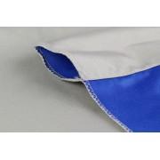 StudioKing Achtergronddoek 2,9x5 m Blauw/Grijs