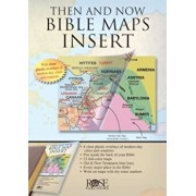 Then and Now Bible Maps Insert, Paperback/Rose Publishing