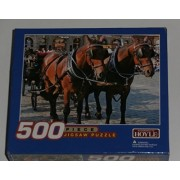 Italian Horse Drawn Carriage Puzzle 500 Pieces