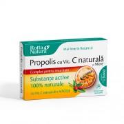 Propolis + Vitamina C si Miere 30cps Rotta Natura