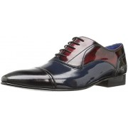Ted Baker Men's Umbber Lhs Oxford, Multi, 7 M US