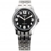 Reloj Casio MTP1216A-1B-Plateado Con Negro