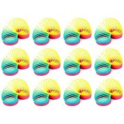 Set Of 12 Vt Rainbow Magic Spring Childrens Kids Toy Novelty Springs
