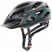 Uvex Onyx cc Casco per bici (52-57 cm, nero/grigio)