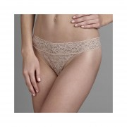 Tanga Marca Metaphor Modelo Floral Lace - Beige