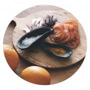 Solhem Musselskal 2-set svart keramik, julia schiller harvey