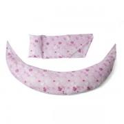 Възглавница за бременност и кърмене Nuvita DreamWizard 10 в 1, розова