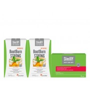SlimJOY Programa de emagrecimento completo de 30 dias. 30 saquetas de BootBurn Intensive Strong + 60 cápsulas SlimJOY