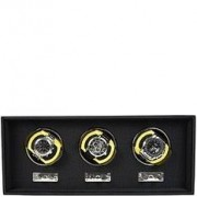 Dulwich Goodwood Rotomat for watches triple yellow