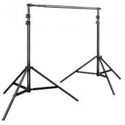 Walimex Pro - Sistema per gli sfondi telescopico, 120 - 307 cm