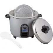 Panasonic SR WA10 GE9PMS Electric Rice Cooker(1 L, Silver)