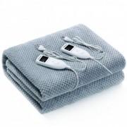 Електрическо одеяло Rohnson R-035, Мощност 120W, Размер 160 x 140 см, 2 контролни управления