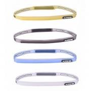 Meco Silicone Sweatband Multifunction Sports Headwear Running Cycling Sweat Control Head Band