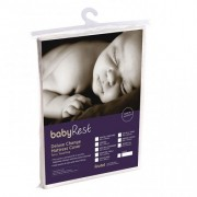 Babyrest Deluxe Towelling Change Mat Cover. Jenny Lyn 870 X 440 X 75 mm White
