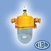 Robbanásbiztos lámpa 105W Exde II C izzóval IP54 Elba