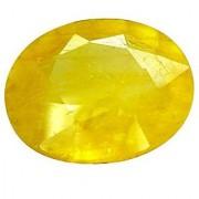 Jaipur Gemstone 7.00 carat yellow sapphire(pukhraj)