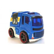 Truck Toy Car Vehicle for Kids, Push n go Toy Vehicle with Friction Powered for Boys/ Girls, Garbage Truck for Kids with Friction Power 4 Inch.