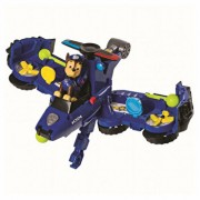 Set de joaca vehicul transformabil 2 in 1 chase flip and fly patrula catelusilor