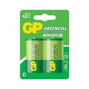 GP Greencell D féltartós elem 13G R20 2db/bliszt. ár/db
