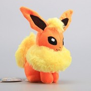 Pokemon Flareon Soft Plush Figure Toy Anime Stuffed Animal 8 Inch Child Gift Doll