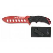 K25 Nůž cvičný K25 32181 pevná čepel ČERVENÝ hliníkový