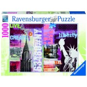 Ravensburger puzzle new york, 1000 piese