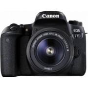 Aparat Foto Canon EOS 77D 24.2 MP cu Obiectiv 18-55mm f3.5-5.6 DC III Black